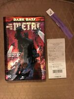 [IN HAND] HAND-SIGNED DARK DAYS: THE ROAD TO METAL BY SCOTT SNYDER