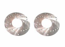 Pair of Front Disc Brake Rotors: 1991-1998 Polaris Trail Blazer 250 2x4 ATV