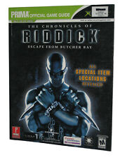 The Chronicles of Riddick Escape From Butcher Bay Prima's X-Box Strategy Guide B