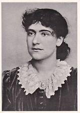 Eleanor Marx. Leeds postcards L374