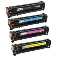 HP 131X 131A TONER CARTRIDGE SET Laserjet pro 200 color M251NW M276NW MFP NEW