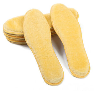 SuperWarm Wool Felt Thick Fluffy Shoes Insoles Boots Inner Soles