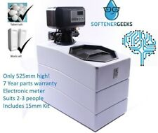 Softenergeeks Nano Electronic Meter Control Water Softener with 15mm Kit