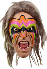 WWE World Wrestling Entertainment Ultimate Warrior Halloween Costume Mask