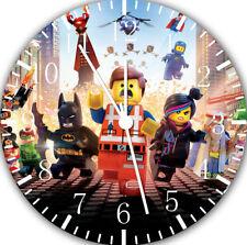 Lego Movie Frameless Borderless Wall Clock For Gifts or Home Decor E213