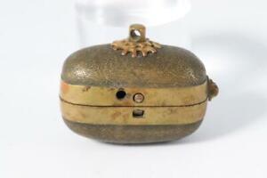 Japanese Antique Iron karakuri lighter Edo period WG86-2