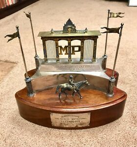 Haskell Invitational Stake Monmouth Park Trophy 1992 Technology Very Rare Item.