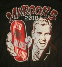 "2018 Maroon 5 ""Red Pill Blues"" Concert Tour (Med) T-Shirt"
