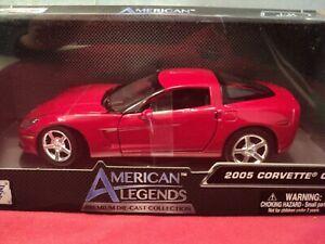 MotorMax  2005 Chevrolet Corvette C6 1/24 scale NIB red exterior 2020 release