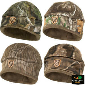 DRAKE WATERFOWL NON TYPICAL YOUTH SHERPA SILENCER BEANIE WITH AGION ACTIVE XL