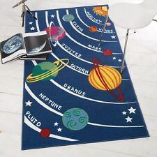 Flair Rugs Matrix Kiddy Planets Rug Multi 100 X 190 Cm