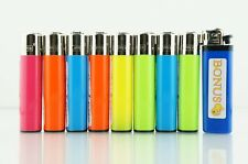 8 pcs New Refillable Clipper Full Size Lighters With Smiley Bonus Lighter