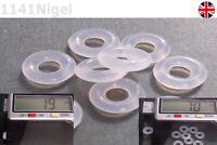 7mm OD  1.9mm CS O Rings Seal Silicone VMQ Sealing O-rings Washers