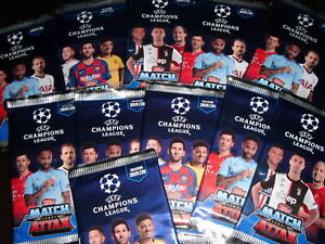 Topps Match Attax Champions League 2019/2020 New and closed 60 packs