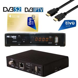 MK Digital,USB,CA,IPTV Receiver mit AKTIVIERTE TIVUSAT Karte