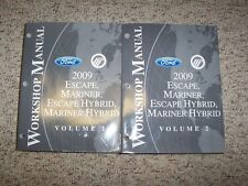 2009 Ford Escape & Hybrid Shop Service Repair Manual Set XLS XLT Limited
