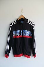 Adidas Originals New York finest Jacket sweater  | S | Black zip up trefoil NY