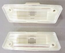1974-1978 FIREBIRD & TRANS AM REAR LICENSE PLATE LIGHT / LAMP ASSEMBLY -2 PC SET