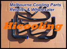 BLACK silicone heater radiator hose for HOLDEN VN VP VR VS V8 5.0L SS 304