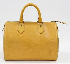 Pre Loved Louis Vuitton LV Bag Speedy 25 Epi Yellow 318