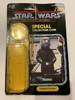 STAR WARS IMPERIAL GUNNER CARDBACK W ATTCH BUBBLE KENNER VINTAGE 1984 POTF ROTJ