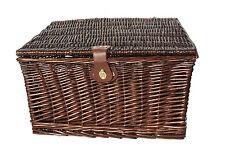 Topfurnishing Strong Wicker Picnic Gift Storage Xmas Christmas Empty Hamper 48 X