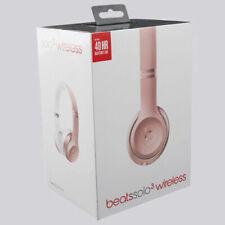 Beats by Dre Solo 3 Wireless On-Ear Headphones - Rose Gold Original UK Stock