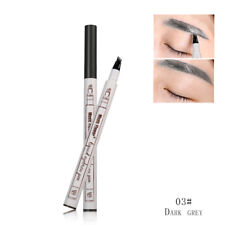 Microblading Tattoo Eyebrow Ink Pen Black Brown Chestnut 3 Colors