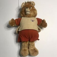 Teddy Ruxpin 1984 Teddy Bear w/ Cassette Player (Works)/No Animatronics