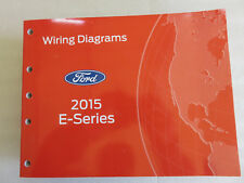 2015 Ford E-Series Econoline Service Manual Electrical Wiring Diagram OEM Shop