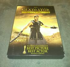 GLADIATOR (DVD, 3 DISC EXTENDED EDITION) Russell Crowe