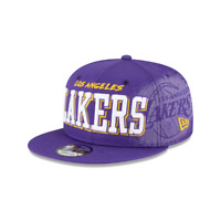 NEW ERA LOS ANGELES LAKERS FADED PURPLE CAP 9FIFTY NBA HAT SNAPBACK ADJUSTABLE