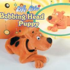 2 BOBBLE HEAD HAPPY HOUND DOG mexican dog bobbing heads car dash pupppy new
