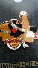 HRC ON LINE,Hard Rock Pin,Sexy Nurse with bear series 3 of 3,XXX LE 100