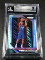 SHAI GILGEOUS ALEXANDER 2018 PANINI PRIZM #184 HYPER REFRACTOR ROOKIE BGS 9 MINT