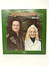 Rare Signature by Cult Leader Tony Alamo LP Tony and Susan Mister DJ Signed