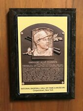 Greg Maddux - Baseball Hall of Fame Induction - Ready to Hang Wall Plaque