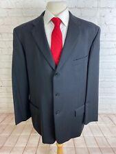 Axcess Men's Black Stripe Blazer 46L $225