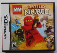 LEGO Battles: Ninjago - Nintendo DS DS Lite 3DS 2DS Game Tested Works !