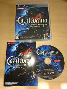 CASTLEVANIA Lord of Shadow jeu konami PS3 import jap