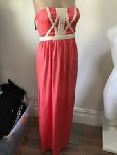 SZ 8 XS WITCHERY MAXI DRESS NWT &169 *BUY FIVE OR MORE ITEMS GET FREE POST