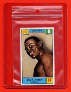 PANINI CAMPIONI dello SPORT 1969/70 - sticker # 351 SONNY LISTON - VG condition