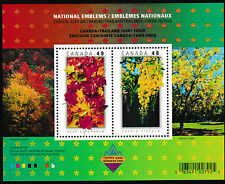 Canada 2001B National Emblems Canada-Thailand joints issue