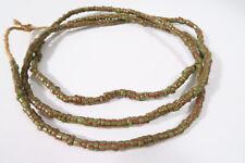 Alte Glasperlen Venedig Murano AF56 Old Venetian Striped trade beads Afrozip