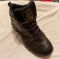 Timberland Mens Mt Maddsen Ankle Hiking Boots Brown Waterproof Lace Up 10.5 W