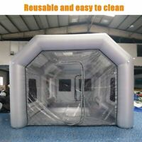6x3x2.5m Portable Giant Oxford Cloth Inflatable Tent Workstation Spray Paint