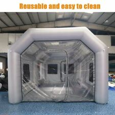 Inflatable Spray Booth Paint Tent Mobile Portable Car Workstation Oxford Cloth