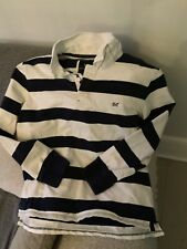 Mens Crew Clothing Rugby Top XL/L