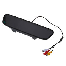 """4.3 """"TFT LCD Display Monitor rearview mirror rearview mirror AUTO CAR DVD A C6T2"""