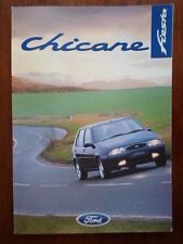 FORD FIESTA CHICANE orig February 1997 UK Mkt Sales Brochure